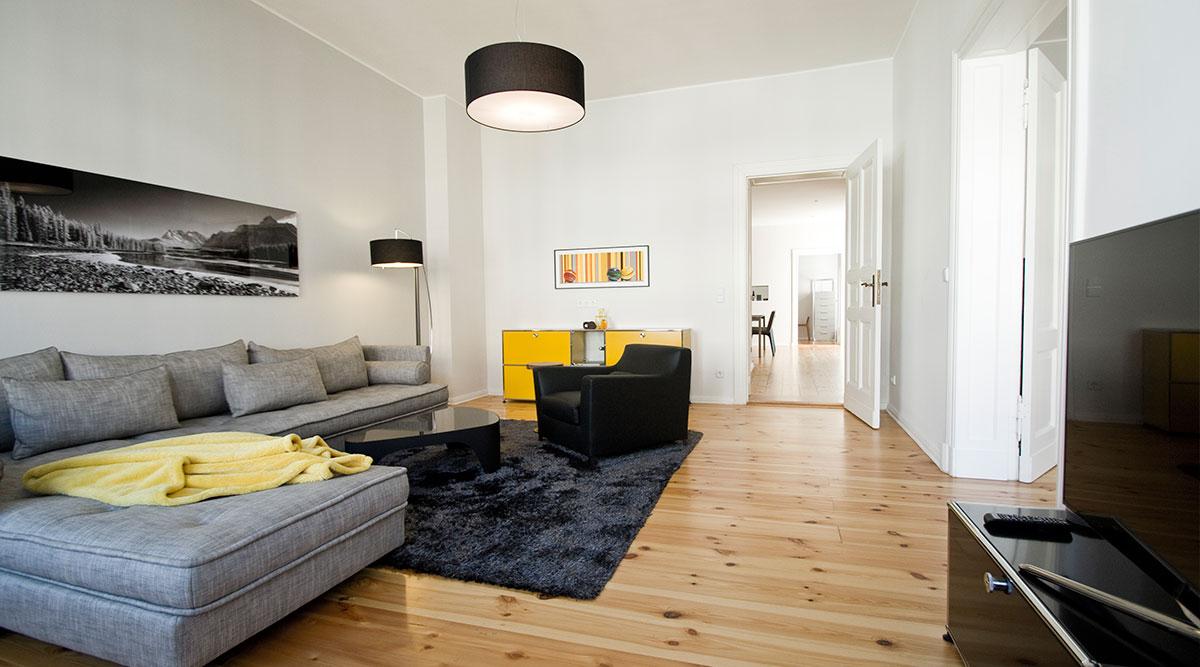Einrichtungsideen – Berliner Altbau - dh raumdesign