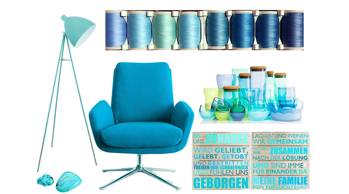 Farbe Turkis Bei Der Raumgestaltung Als Wandfarbe Richtig Nutzen Dh Raumdesign