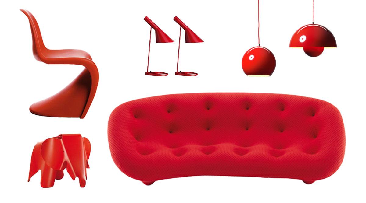raumgestaltung mit farbe rote akzente setzen, farbe rot bei der raumgestaltung / als wandfarbe richtig nutzen - dh, Design ideen