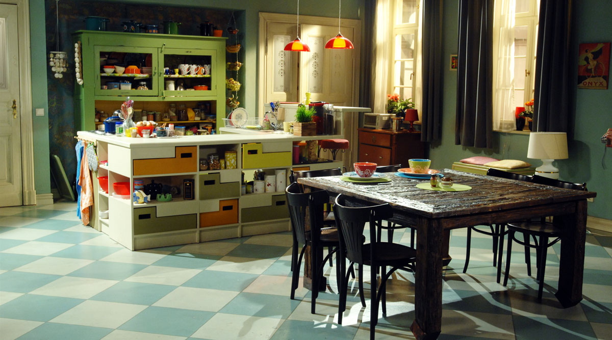 Eklektischer Einrichtungsstil/Stilmix: Küche individuell einrichten ...
